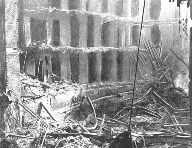 Sala destruida